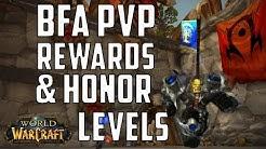wow bfa pvp rewards