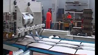Поточная линия для производства гофрокоробов TCY(Оборудование компаниия TCY представлено в РФ и странах СНГ с 2004 г. На данный момент на предприятиях работает..., 2011-06-30T11:27:48.000Z)