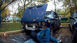 Оторвались подушки / Минус резонатор - ВАЗ 2106 - Подушки от нивы