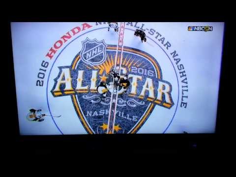 Dierks Bentley during NHL All Star Game
