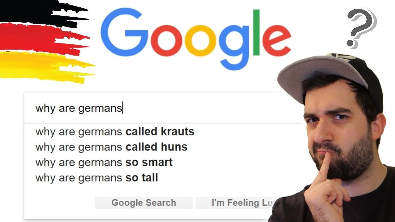 GERMAN ANSWERS THE WEB'S MOST SEARCHED GOOGLE QUESTIONS ABOUT GERMANS AND  GERMANY 🔎 VlogDave