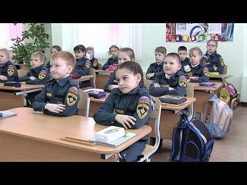 В Лангепасе гимназисты переоделись в форму МЧС