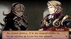 Fire Emblem Fates: Conquest - Female Avatar (My Unit) & Xander Support Conversations