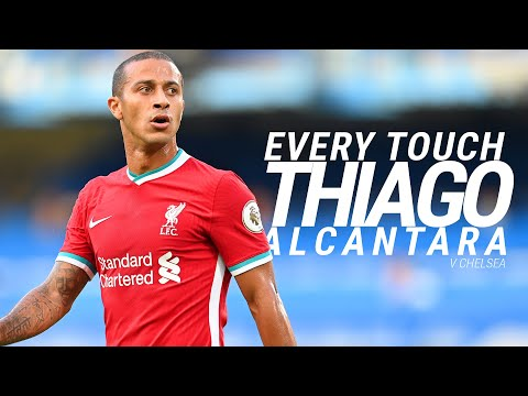 EVERY TOUCH: Thiago Alcantara's record-breaking Liverpool debut