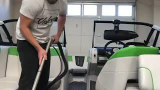 Boat Cleaning with a Aqua Air