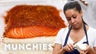 How To Make Blackened Salmon with Adrienne Cheatham