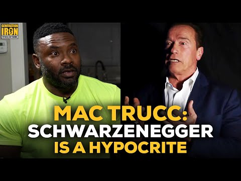 Mac Trucc: Arnold Schwarzenegger Is A Hypocrite To Ask For Drug Testing In Bodybuilding