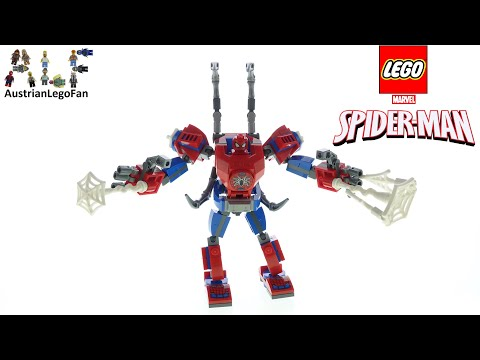 LEGO Spider-Man 76146 Spider-Man Mech - Lego Speed Build Review