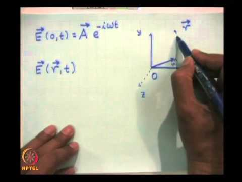 Mod-01 Lec-07 Electromagnetic Wave Propagation in Plasma