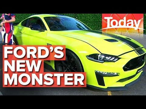 Previewing Ford's Limited Edition Supercharged Mustang | Today Show Australia
