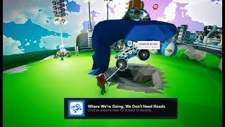 Astroneer Tips & Tricks - Easy Way to Get the We Won't Need Roads Achievment