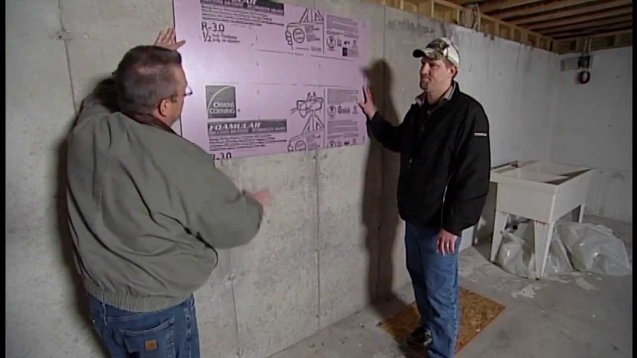 How To Insulate A Bat Foundation Wall