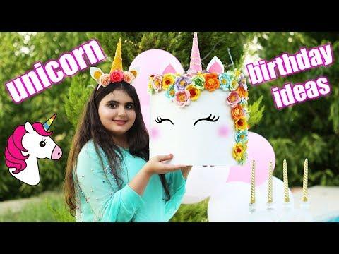 Cutest Decor ! DIY Unicorns Birthday Party Decoration Ideas