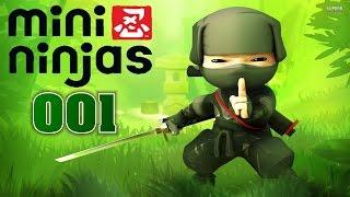 MINI NINJAS - #01 ERSTE SCHNITTE - Let´s Play Mini Ninjas (deutsch / german)