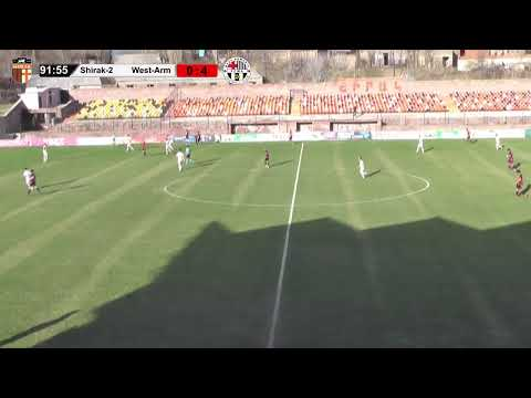 AFL, Matchday 22 Shirak-2-West Armenia. LIVE
