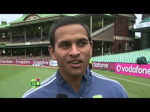 3 Jan  Usman Khawaja post match interview