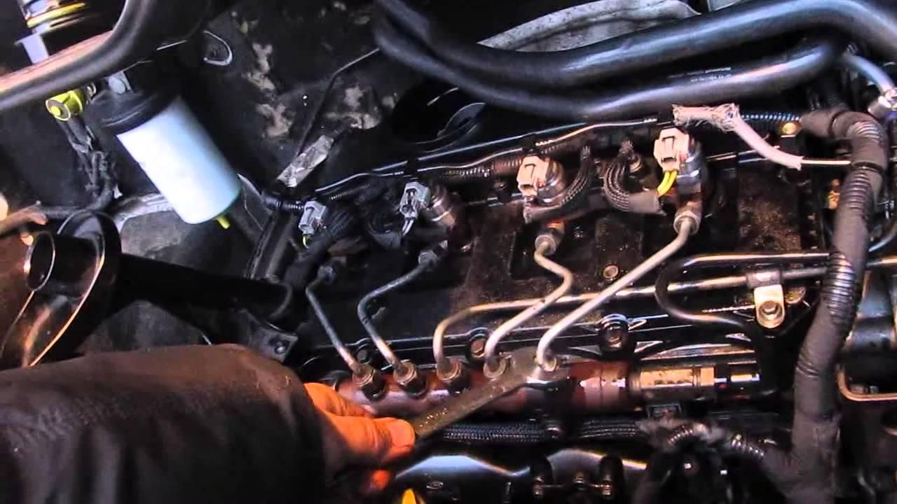 Форд транзит клапан перед свечей
