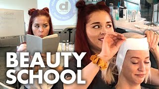 Learning How to Give a Facial?! (Beauty Trippin)