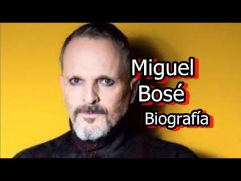Miguel Bosé - Biografía