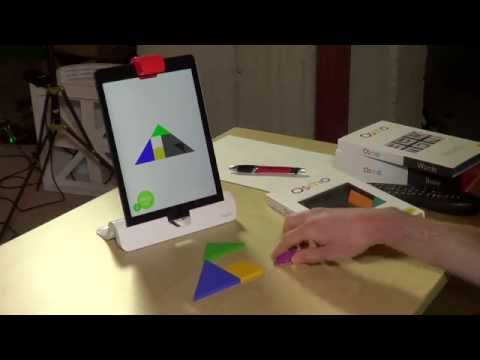 Osmo for iPad Review - Educational apps that interact with real objects