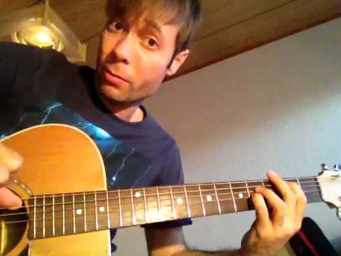 Acoustic guitar tips - key of E (Open the eyes of my heart) - YouTube