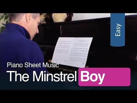 Minstrel Boy   Free Printable Sheet Music   Celtic Piano