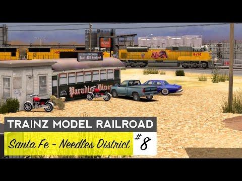 Trainz Model Railroad #8 – Layout Room