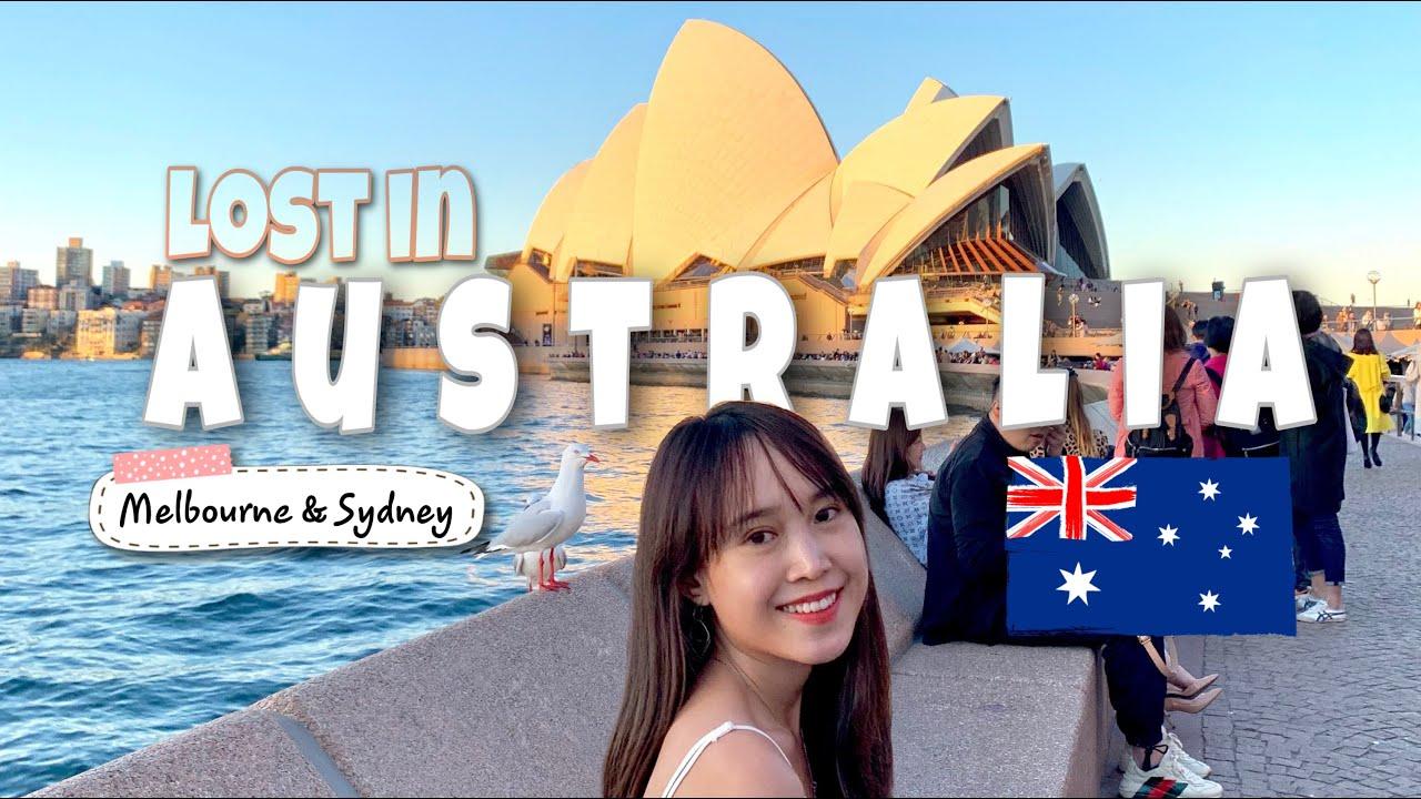 #VLOG: 🇦🇺 Đi ÚC 1 tuần với Thảo – Khám phá Melbourne, Sydney 🐨 | 08/2019