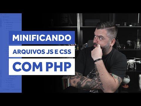 MINIFICAÇÃO DE ARQUIVOS JS E CSS COM MINIFY | PHP TIPS #016