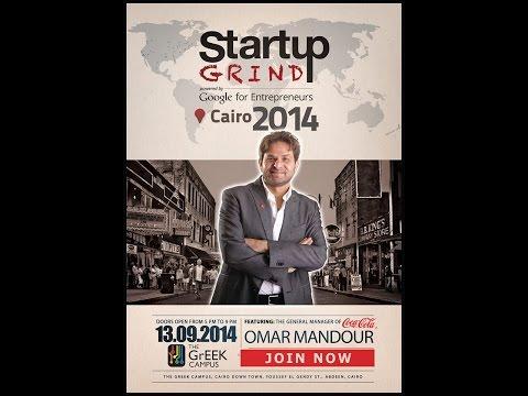 Omar Mandour (Coca-Cola) at Startup Grind Cairo