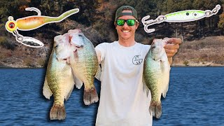 Fall Crappie Fishing POINTS! Jig & Spoon Tips