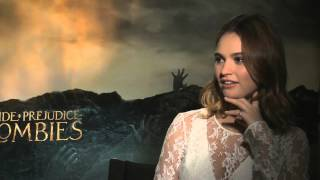Lily James for