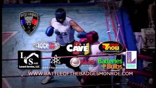 2013 Battle Of the Badges, Monroe Louisiana Pre-Fight Video