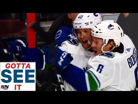 GOTTA SEE IT: Elias Pettersson Caps First Career Hat Trick With Canucks' OT Winner