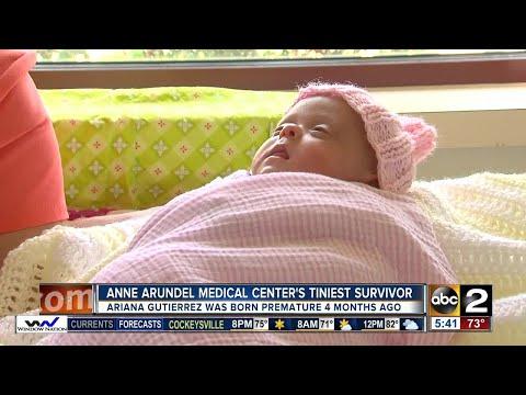 Anne Arundel Medical Center's tiniest survivor