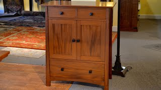 Mahogany Wine Cabinet, woodworking, furniture making, carpentry