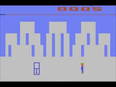 Atari 2600 Superman speedrun 1:30