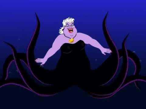 Ursula W.I.P poor unfortunate soul Little mermaid 3rd test