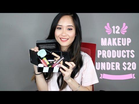 12 Sản Phẩm Trang Điểm Dưới 200k / Make-up Under $10