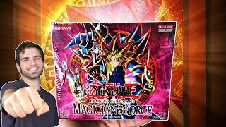 Classic YuGiOh 2003 Magicians Force Booster Box Opening! OH BABY!! #1