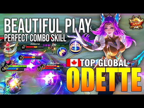 BEAUTIFUL MOVEMENT ODETTE COMBO SKILL - TOP GLOBAL ODETTE Mʏs†ɪ - MOBILE LEGENDS from YouTube · Duration:  12 minutes 34 seconds
