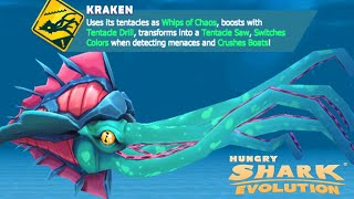 *NEW* KRAKEN IS HERE!!! Hungry Shark Evolution