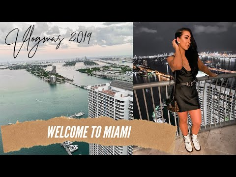 WELCOME TO MIAMI | And Welcome To Vlogmas Hi