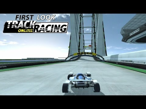 First Look At Track Racing Online - Facebook Racing Game (w/ Commentary)