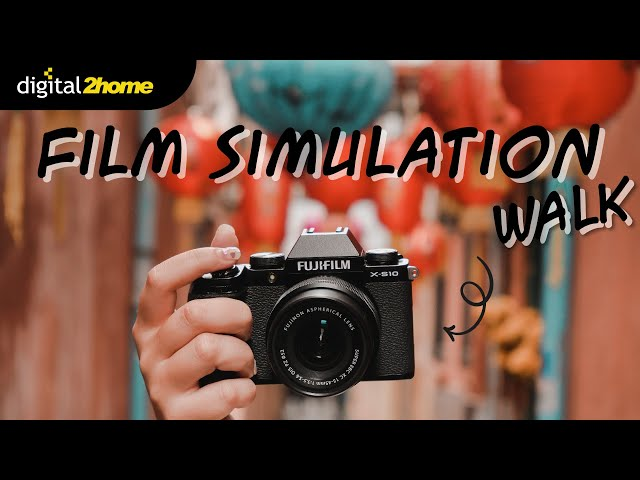 film simulation walk with Fujifilm X-S10