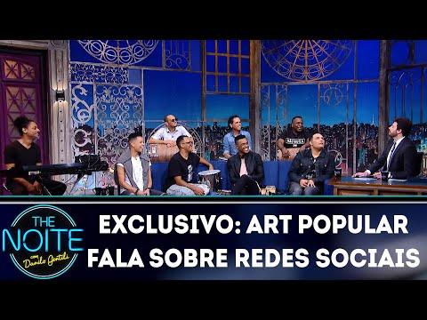 Exclusivo para Web: Art Popular fala sobre redes sociais  | The Noite (07/05/18)