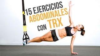 15 ejercicios abdominales en trx
