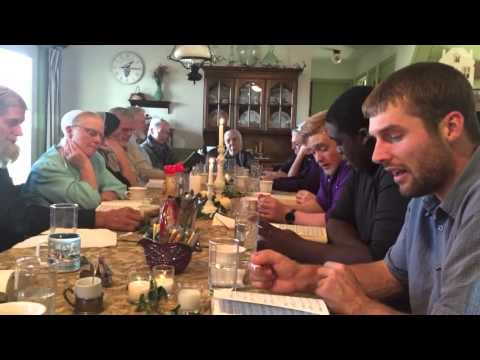 Singing for Amish great grandma in Lancaster, pa