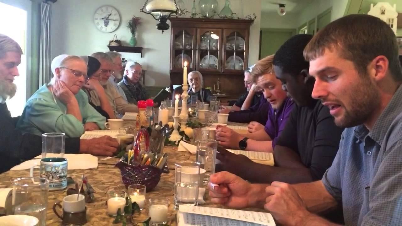 Singing For Amish Great Grandma In Lancaster Pa