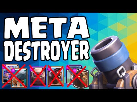 META DESTROYER! Best Mortar Deck So Far! Master Deck! Lavaloon, Hog, 3 Muskets - Clash Royale